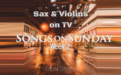 Week 2: 'Sax & Violins on TV' – Rion Smith